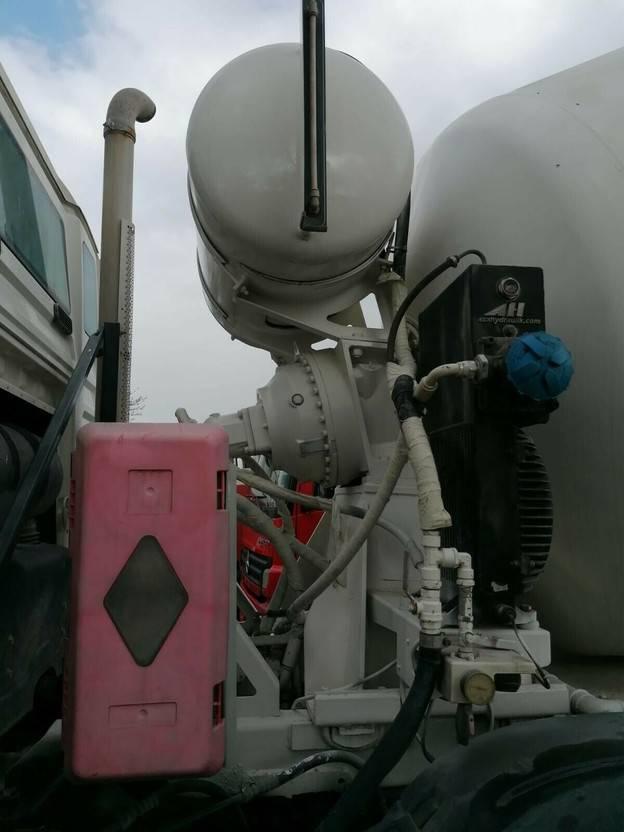 Betonmischer-LKW MAN TGS 32 8x4 BB - 9 cbm- STANDORT BITBURG 2009