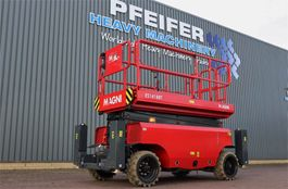 scissor lift wheeld Magni ES1418RT New And Available Directly From Stock, El 2021
