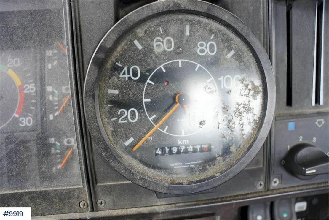 Fahrgestell LKW Scania P92 4x4 1988