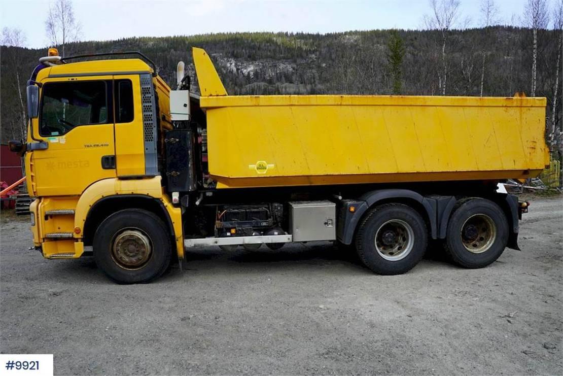 LKW Kipper > 7.5 t MAN TGA 28.410 6x2 tipper truck 2005