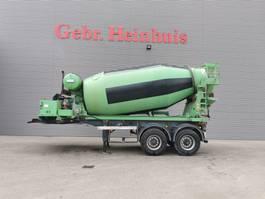 concrete mixer semi trailer Groenewegen 20CC-15-18 Mulder DESU 100Z 10 Kub Mixer! 1993
