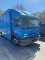 closed box truck Renault Midlum 180 1999