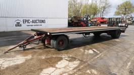 flatbed full trailer Kel-Berg D81v 2005
