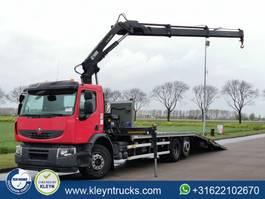 platform truck Renault Premium 380 hiab 166e-2duo,hydr 2013