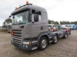 chassis cab truck Scania G450 8x2*6 ADR Chassis Euro 6 2015