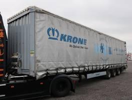 tilt trailer Krone SDP 27 Mega Liftachse Hubdach verbreiterbar 2016