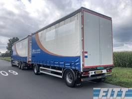 sliding curtain trailer Burg A-2-18 2ass schamel aanhanger, schuifzeilen, schuif/hefdak, alu borden 2012