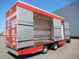 closed box trailer Netam-Fruehauf 2 As Wipkar Gesloten - Dieplader, WL-49-BT 1994