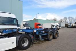 container chassis semi trailer ASCA ORIGINAL * EXTENDABLE  1.5MTR * DUBBLE TIRES * 1995