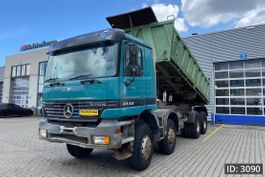 tipper truck > 7.5 t Mercedes-Benz Actros 4140 Day Cab, Euro 2, // Full steel // EPS 3 pedals // Meiller 3 side tipper// 1998