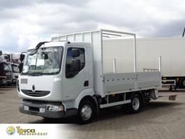 platform truck Renault Midlum 190 DXI + Manual + Dhollandia Lift+low kilometers 2007