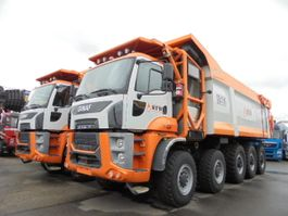 tipper truck > 7.5 t Ginaf HD5395TS 10X6 2018