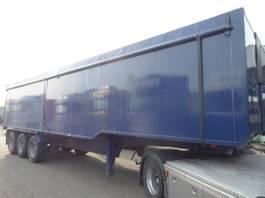 tipper semi trailer Netam-Fruehauf 55 m3, Zelt, 2010