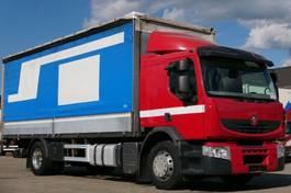 tilt truck Renault Premium 370 DXi PritschePlane Retarder Edscha E5 2008