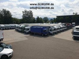 closed box truck Mercedes-Benz Atego 818 L BIGSPACE Koffer 6,1 m*KLIMA*Standhzg 2016