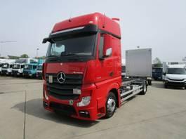 chassis cab truck Mercedes-Benz Actros 1842 Lnr BDF-Volumen 7,45 m LBW 3.000 kg 2017