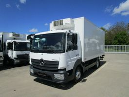 refrigerated van Mercedes-Benz Atego 818 L Kühlkoffer 5,5 m LBW 1 T*THERMOKING 2017