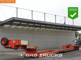 lowloader semi trailer Nooteboom EURO PX 91-04 Pendelaxles Remote Control 625 cm Extendable Detachable Neck 2005