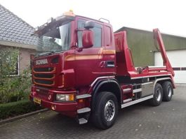 Container-LKW Scania G450 6X6 BB Portaal Systeem 2013
