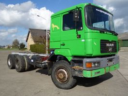 chassis cab truck MAN 26-403 6x6 long chassis 1997