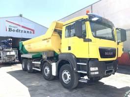 tipper truck > 7.5 t MAN TGS 41 Dump truck  Bennes Manjot PARABLOC 2013