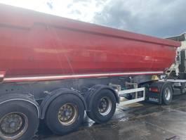 tipper semi trailer Meiller 3 assige kiep trailer