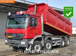tipper truck > 7.5 t Mercedes-Benz Actros 4144 8X8 NL-Truck 8x8 Big-Axle 3-Pedals Euro 5 2007