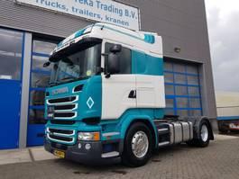 hazardous materials tractorhead Scania R450 ADR PTO 2x tank 2015