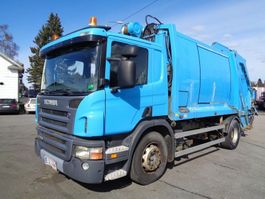 garbage truck Scania P270 4x2 4100 2007