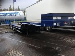 flatbed semi trailer Nooteboom Open semi Verhuur / only Rental 2012