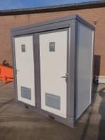 sanitary container dubbele Toilet / sanitair unit