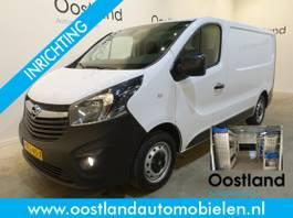 closed lcv Opel Vivaro 1.6 CDTI L1H1 Servicebus / Sortimo Inrichting / Airco / Cruise Control /... 2017