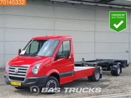 light duty tractor unit - lcv Volkswagen Crafter 163PK BE trekker Containerchassis Oprijwagen oplegger combinatie A/C Cru... 2007