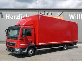 closed box truck MAN BL, 1.5t LBW, Klima, Bl/Lu 2015