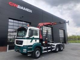container truck MAN TGS 26.440 6x4 Haak /Kraan 2010