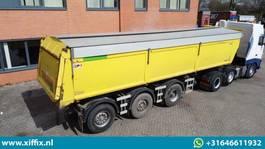 Kippauflieger AJK Multifunctionele wegenbouw kipper // 2x VSE gestuurd 2010