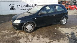 hatchback car Opel Corsa 1.7Di-16V 2002