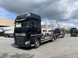 platform truck DAF XF 480 Komplettzug  FAR BDF SSC,ACC,PCC,TOP 2018