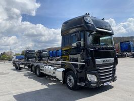platform truck DAF XF 530 Komplettzug  FAR BDF SSC,ACC,PCC,NAVI,TOP 2018