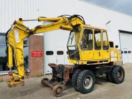wheeled excavator Atlas 1304 kZW 1990