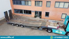 semi lowloader semi trailer Faymonville 3-ass. Semi dieplader met dubbele hydr. kleppen en hydr. verstelbare vloer // 2x gestuurd 2009