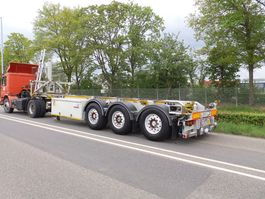 container chassis semi trailer LAG 30 ft tipping rotory valve adr 2006