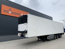 refrigerated semi trailer Pacton Carrier Vector 1800 D/E (silent), steering axle, taillift, good tires, NL-trailer, MOT: 27/05/2022 2006