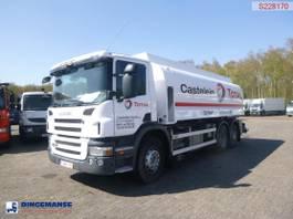 tank truck Scania P360 6X2 fuel tank 20 m3 / 5 comp + dual pump/counter/hoses 2010