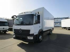 closed box truck Mercedes-Benz Atego 1323 IV L Koffer 6 m LBW BÄR 1,5 T*NL 7 T 2016