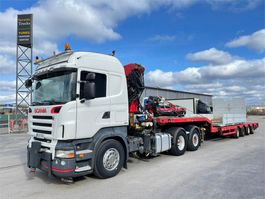 crane truck Scania R420 6X2 2007
