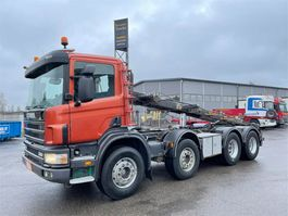 container truck Scania P114 8x4 2005