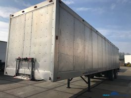 closed box semi trailer Netam-Fruehauf Closed box lift ONCRK 32W220A 1990