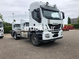 closed box truck Iveco STRALIS AS480.26 2015