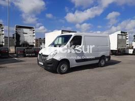 closed box truck Renault MASTER 125.35 L1H1 2016